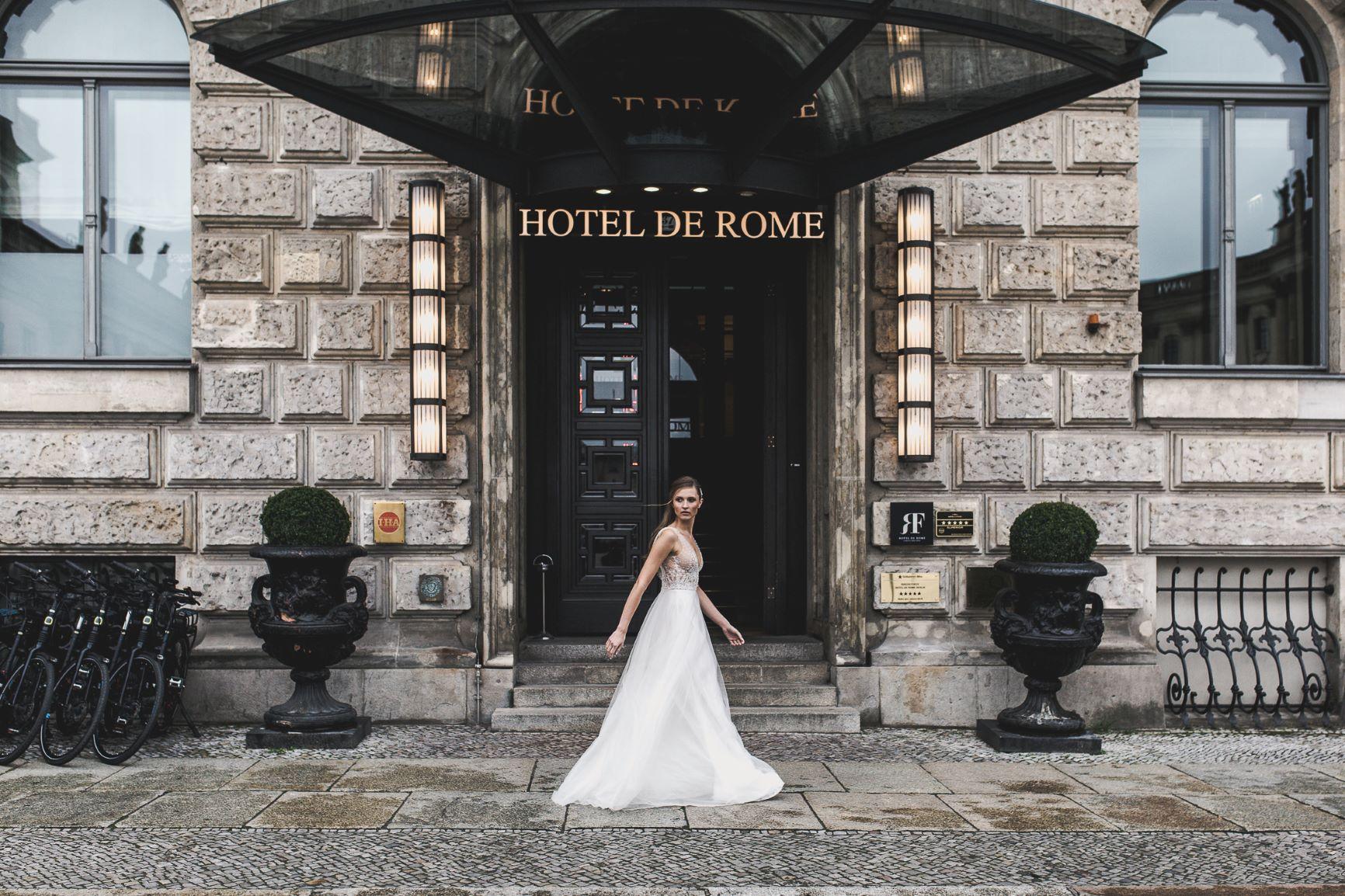 Hotel de Rome wedding