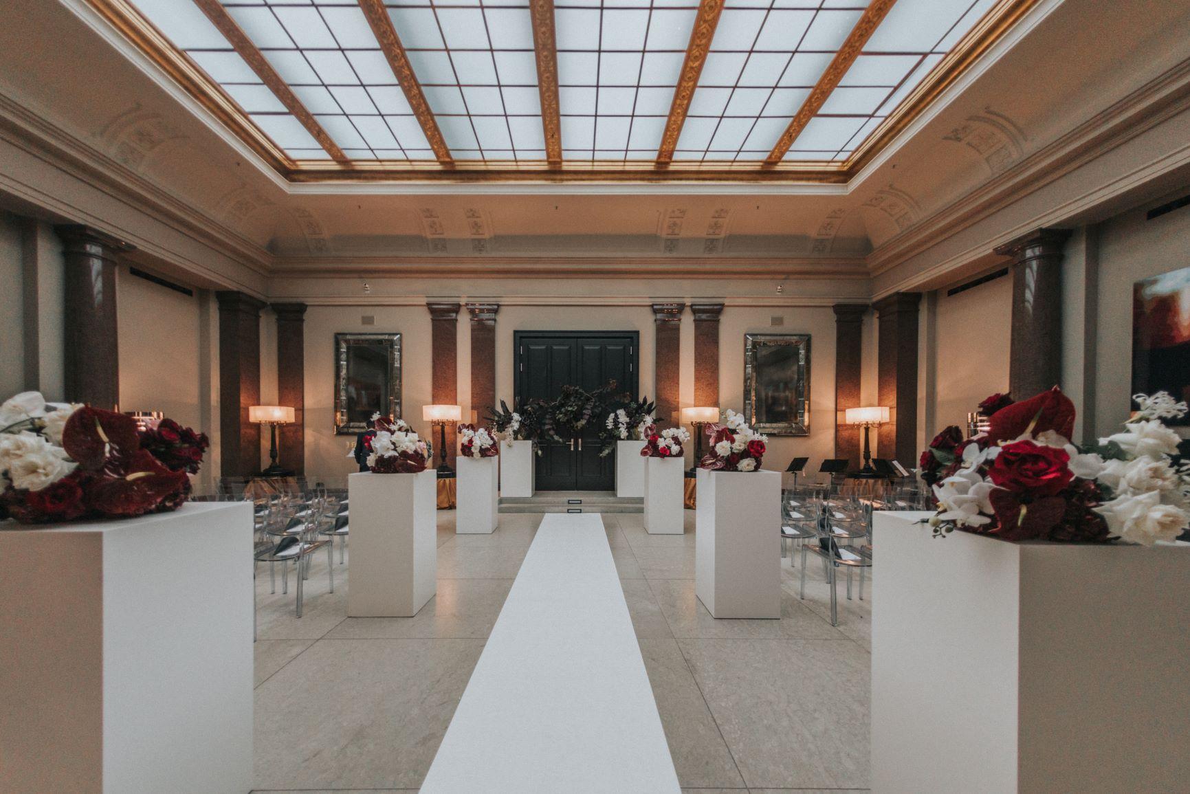 Opera court wedding hotel de rome