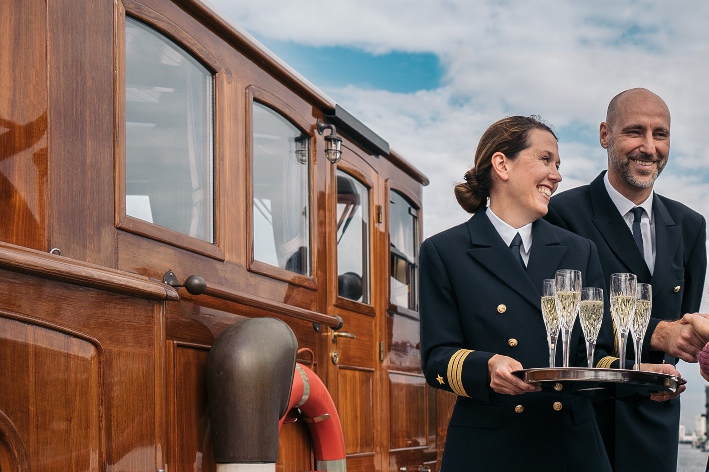 Fitzgerald Begrüßung Schiff Berlin Hochzeit
