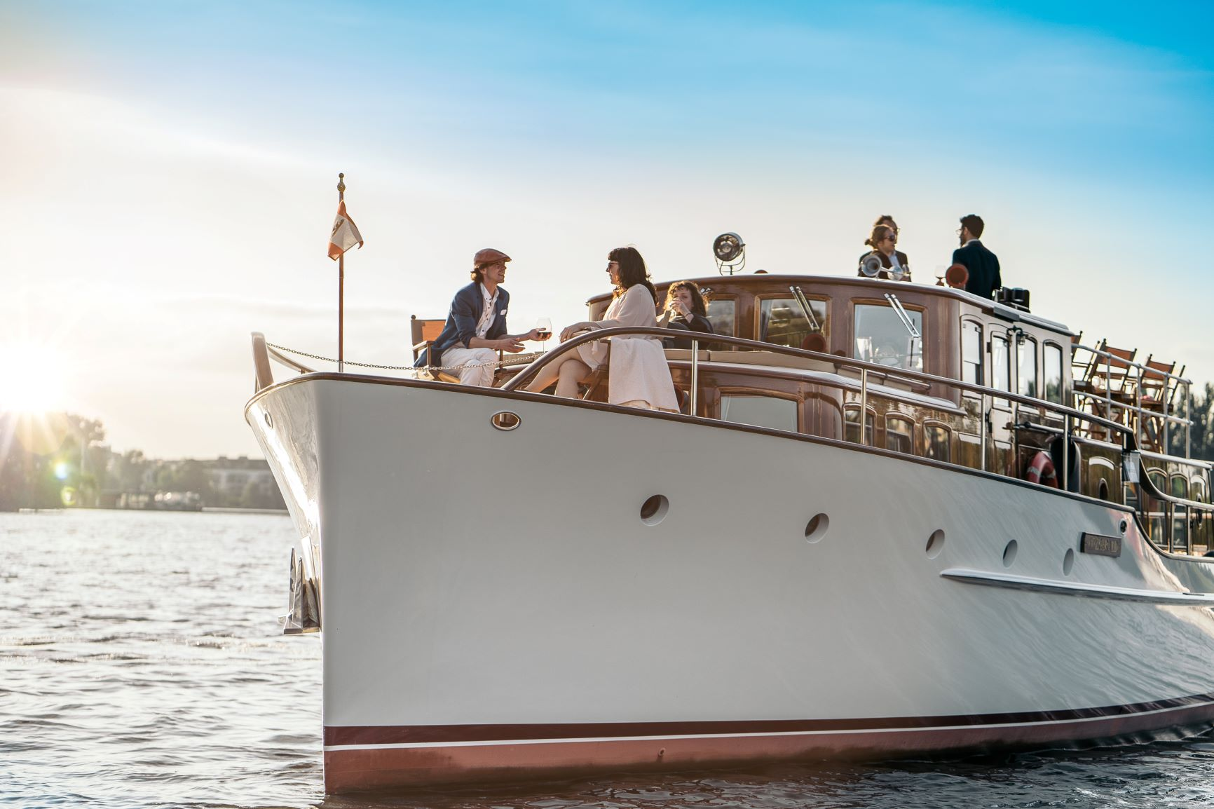 Fitzgerald Bugansicht Schiff Hochzeit Berlin